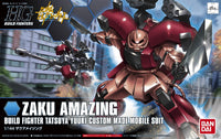 Gundam Build Fighters HGBF #002 Zaku Amazing Tatsuya Yuuki Custom Made Mobile Suit 1/144 Model Kit