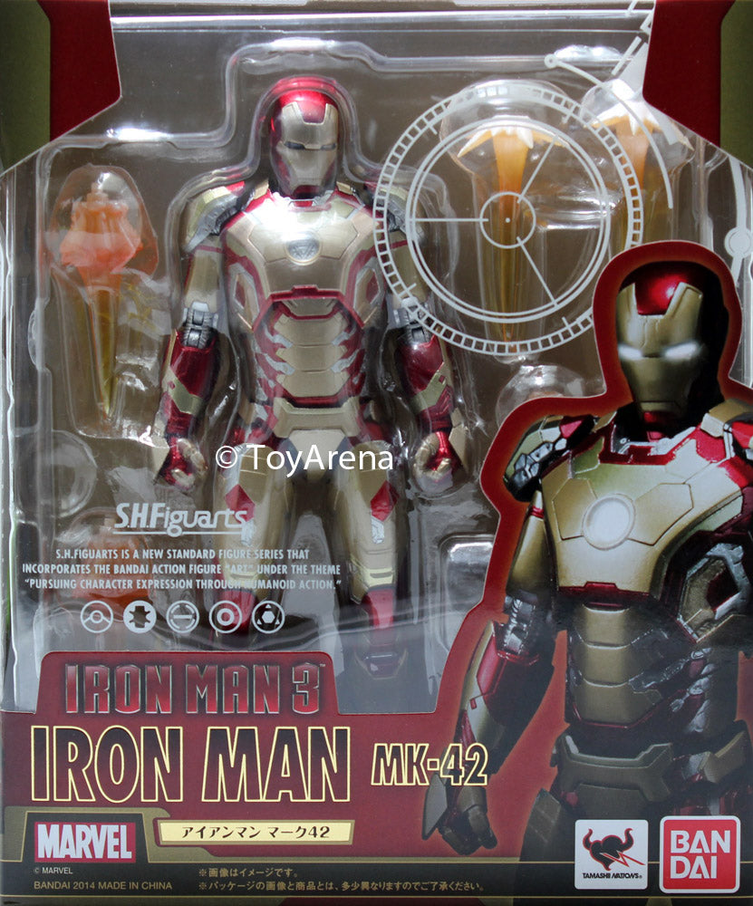 S.H. Figuarts Iron Man Mark 42 Action Figure