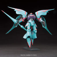 Gundam Build Fighters HGBF #011 Qubeley Papillon Aila Jyrkiainen Custom Made Mobile Suit 1/144 Model Kit