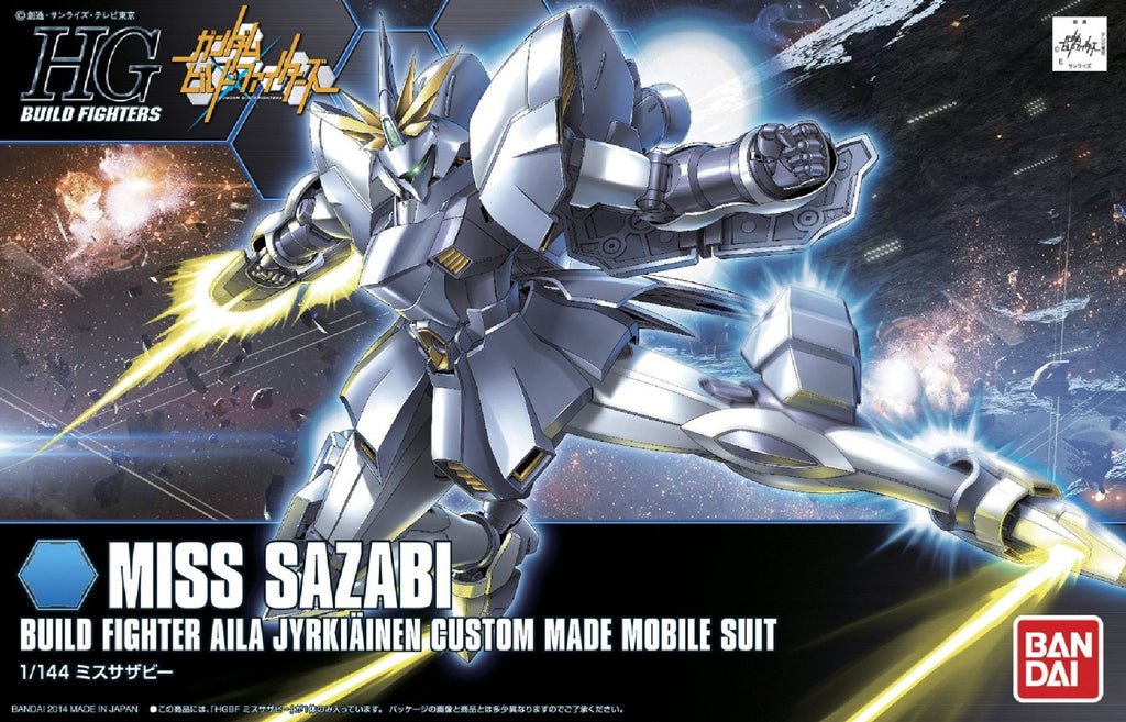 Gundam Build Fighters HGBF #012 Miss Sazabi Aila Jyrkiainen Custom Made Mobile Suit 1/144 Model Kit