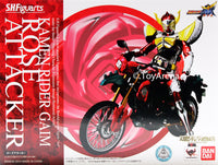 S.H. Figuarts Rose Attacker Bike Kamen Rider Gaim Action Figure Tamashii Web Exclusive