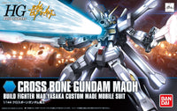 Gundam 1/144 HGBF #014 Gundam Build Fighters Crossbone Gundam Maoh Mao Yasaka Custom Made Mobile Suit Model Kit