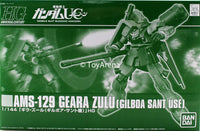 Gundam 1/144 HG Gundam Unicorn AMS-129 Geara Zulu Gilboa Sant Use Model Kit Exclusive