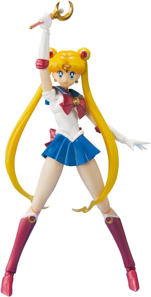 S.H. Figuarts Sailor Moon with Luna Action Figure Reissue