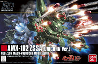Gundam Unicorn 1/144 HGUC #180 AMX-102 ZSSA Unicorn Ver Model Kit