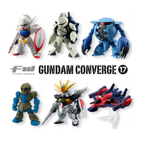 Bandai FW Fusion Works Gundam Converge Volume 17 Trading Figure Set of 8