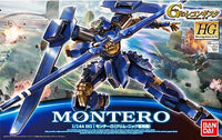 Gundam Reconguista G 1/144 HG #03 Montero Klim Nick Custom Model Kit