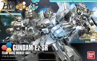 Gundam Build Fighters Try HGBF #021 EZ-SR Team SRSC Custom Made Mobile Suit 1/144 Model Kit