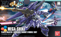 Gundam Build Fighters Try HGBF #025 Mega-Shiki Shunsuke Sudou's Custom Made Mobile Suit 1/144 Model Kit