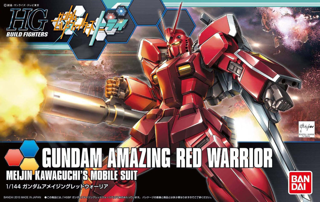 Gundam Build Fighters Try HGBF #026 Gundam Amazing Red Warrior 1/144 Model Kit