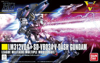 Gundam 1/144 HGUC #188 LM312V04 + SD-VB03A V-Dash Gundam Model Kit