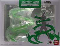 Tamashii Effect Wind Green Version Stand Base Stage S.H Figuarts