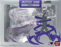 Tamashii Effect Wind Violet Purple Version Stand Base Stage S.H Figuarts