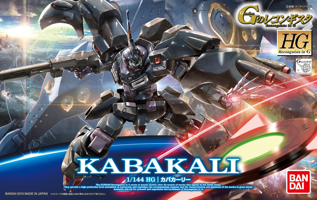 Gundam Reconguista G 1/144 HG #16 Kabakali Model Kit