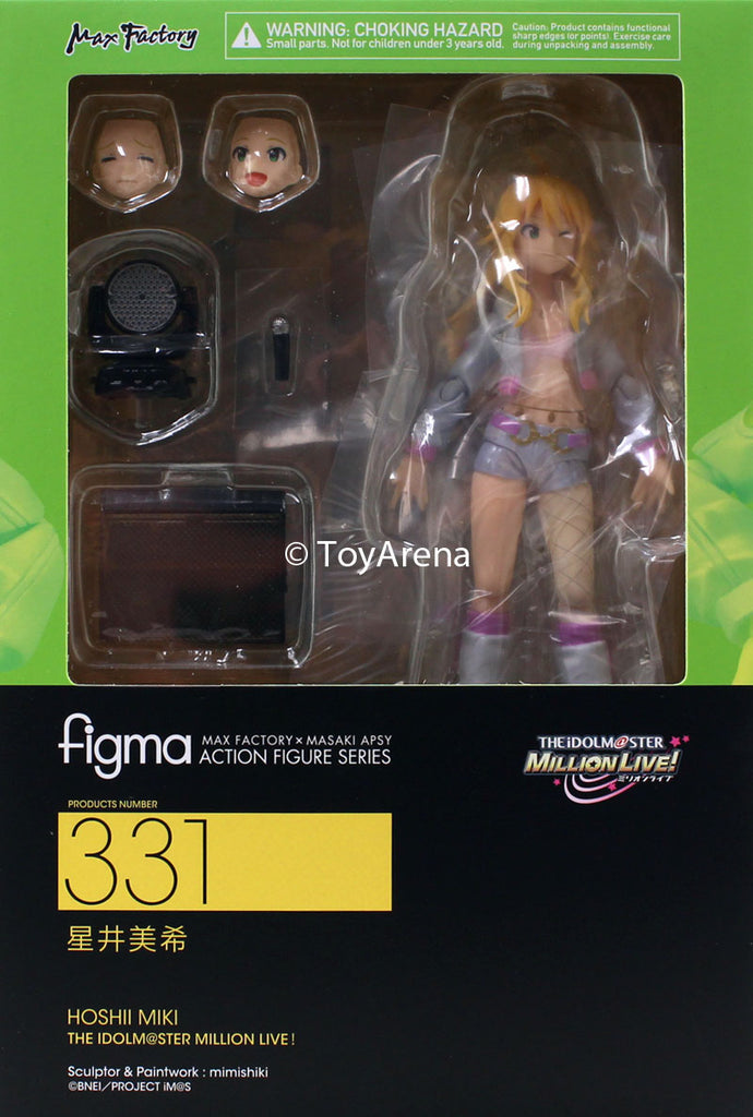 Figma #331 Hoshii Miki The IDOLM@STER Million Live!