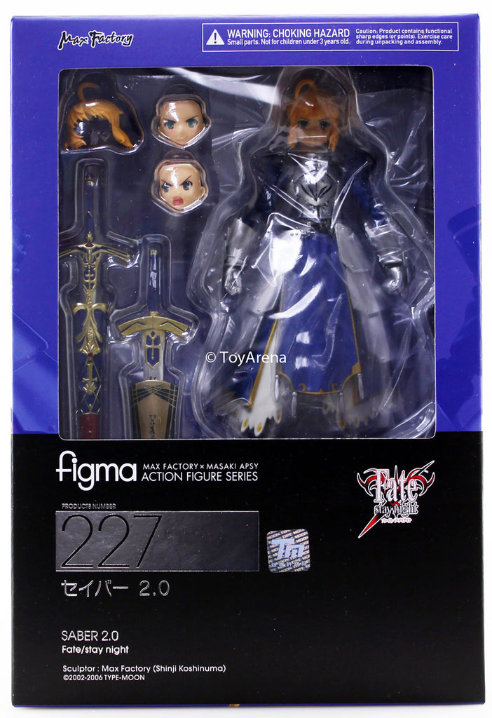 Max Factory figma 227 Fate//stay night Saber 2.0 action figure