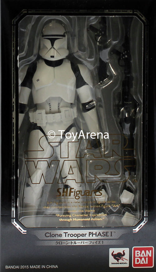 S.H. Figuarts Clone Trooper Phase 1 Star Wars Action Figure