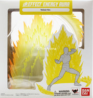 Tamashii Effect Energy Aura Yellow Version Stand Base Stage S.H Figuarts