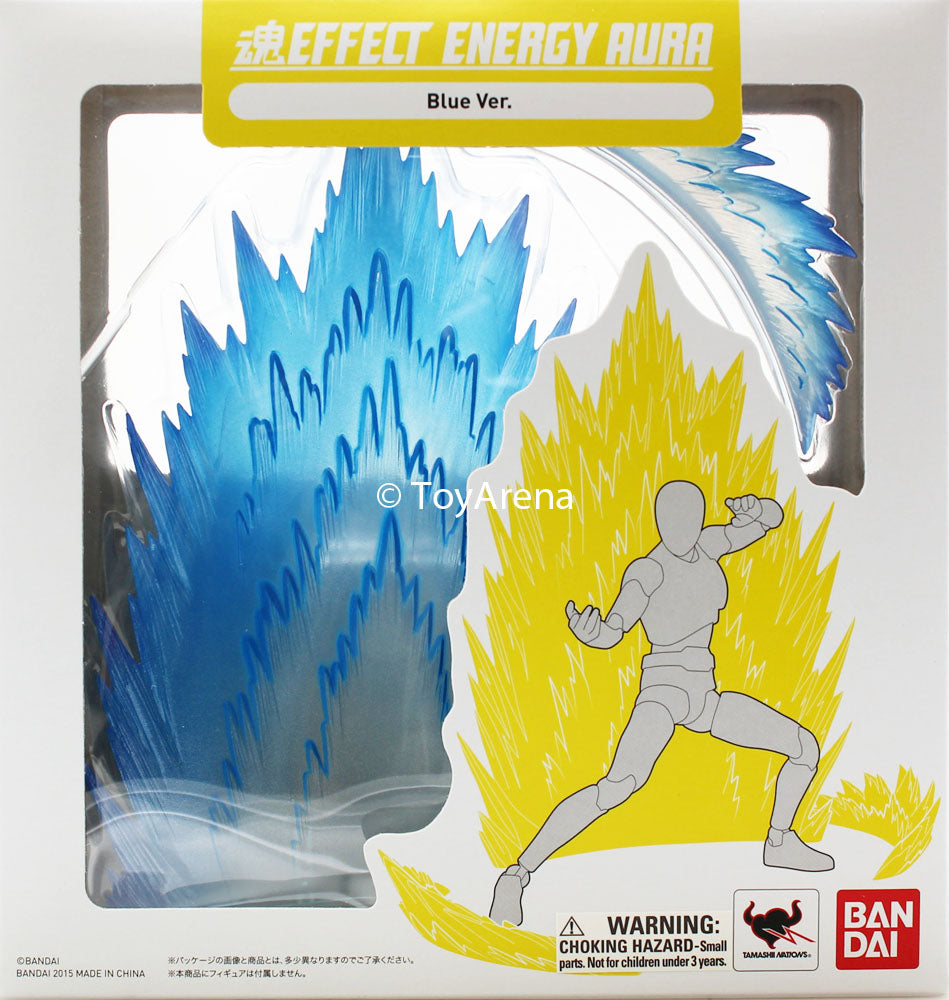 Tamashii Effect Energy Aura Blue Version Stand Base Stage S.H Figuarts