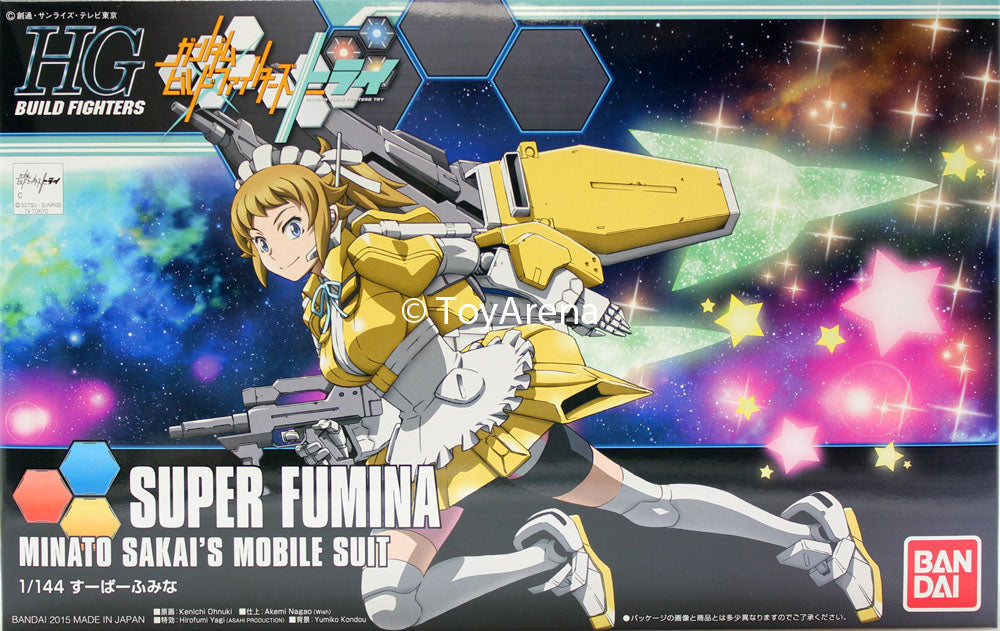Gundam Build Fighters Try HGBF #044 Super Fumina 1/144 Model Kit