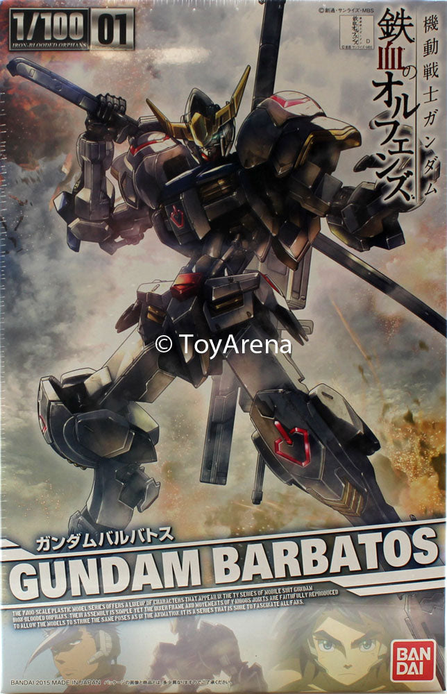 Gundam G-Tekketsu Iron-Blooded Orphans 1/100 #01 Gundam Barbatos