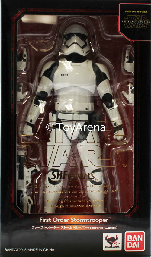 S.H. Figuarts First Order Stormstrooper Star Wars The Force Awakens Action Figure
