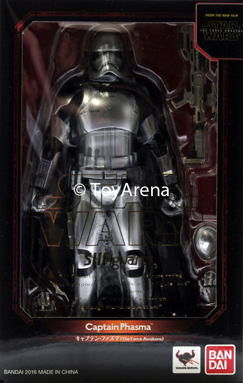S.H. Figuarts Captain Phasma Star Wars The Force Awakens Action Figure