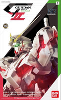 Gundam Unicorn 1/144 HGUC RX-0 Unicorn Gundam Destroy Mode Ver. Gundam Docks at Hong Kong II Model Kit Limited Bandai Exclusive