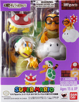 S.H. Figuarts Mario Diorama Playset E Enemy Droves Beginner's Class Super Mario Bros Action Figue