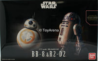 Star Wars 1/72 Scale BB-8 & R2-D2 Model Kit
