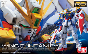 Gundam 1/144 RG #20 EW Endless Waltz Wing Gundam XXXG-01W Model Kit 1
