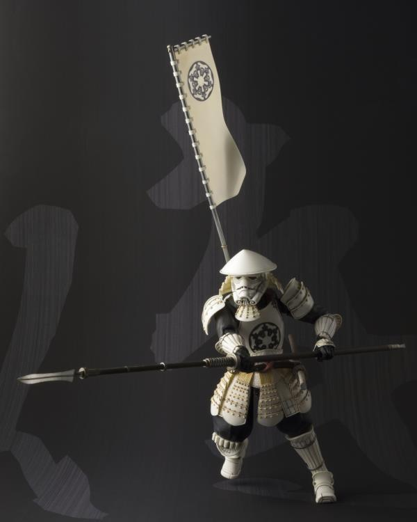 Tamashii Nations Movie Realization Star Wars Yari Ashigaru Stormtrooper Meisho Action Figure 1