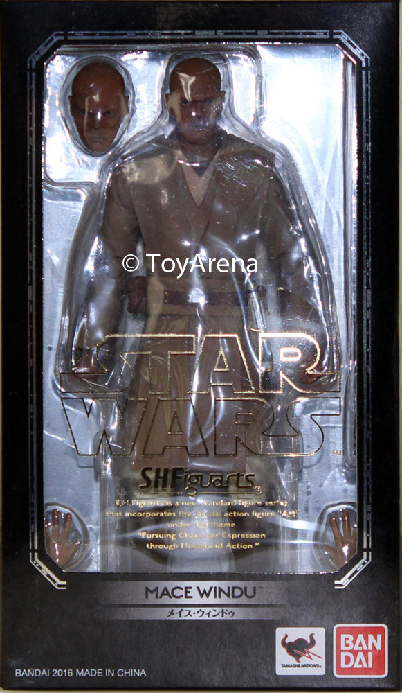 S.H. Figuarts Mace Windu Episode II Ver Star Wars Action Figure