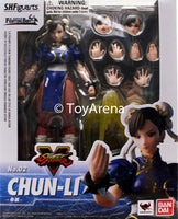 S.H. Figuarts Street Fighter V (5) Chun Li Action Figure