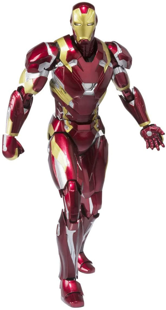 S.H. Figuarts Iron Man Mark XLVI (46) Tony Stark Captain America Civil War Action Figure