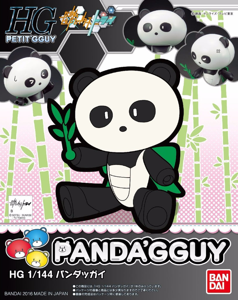 Gundam Build Fighters HG Beargguy #07 Panda'Gguy Panda Model Kit
