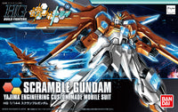 Gundam Build Fighters Try HGBF #047 Scramble Gundam Yajima Engineering Custom Made Mobile Suit