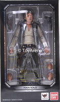 S.H. Figuarts Han Solo Episode 4 Ver Star Wars Action Figure