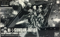 Gundam Build Fighters Try Gundam Hi-V Nu Gundam Influx Allan Adam's Model Kit P-Bandai Exclusive