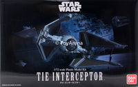 Star Wars 1/72 Scale Tie Interceptor Model Kit