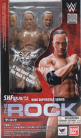 S.H. Figuarts Dwayne The Rock Johnson WWE Action Figure