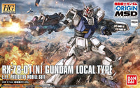 Gundam 1/144 HG #010 Gundam The Origin RX-78-01[N] Gundam Local Type Model Kit