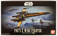 Star Wars 1/72 Scale Poe's X-Wing Starfighter Model Kit