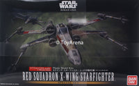 Star Wars 1/72 Rogue One Red Squadron X-Wing Special Set Model Kit