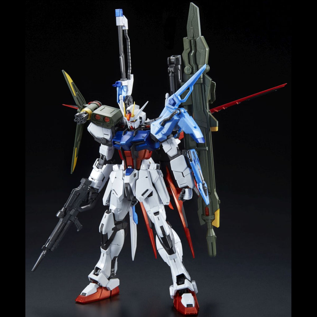 Gundam 1/100 MG Gundam Seed Perfect Strike Gundam Special Coating Ver. Model Exclusive