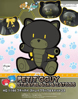 Gundam Build Fighters HG Petit'Gguy Strayblack & Cat Cosplay HGPG Model Kit