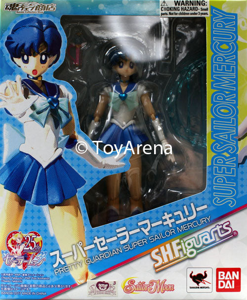 S.H. Figuarts Super Sailor Mercury Sailor Moon Action Figure