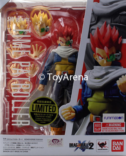 S.H. Figuarts Dragonball Xenoverse Time Patroller Figure