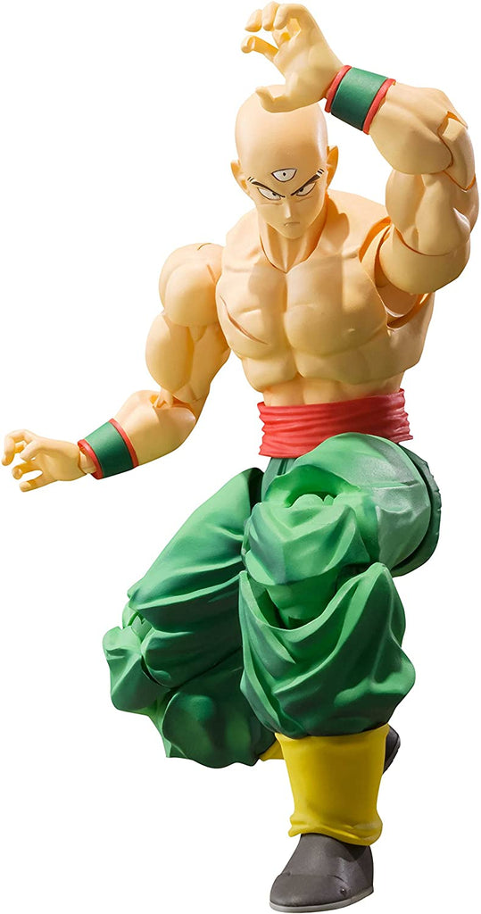 S.H. Figuarts Dragonball Z Tien Shinhan Action Figure