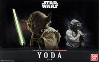 Star Wars 1/6 Scale Yoda and 1/12 Scale Model Kit